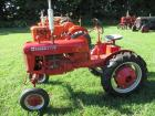 "1948 Farmall Mod. Cub, WF, fenders, NEW 8.3X24"" tires, NEW paint, wheel weights, #53871"
