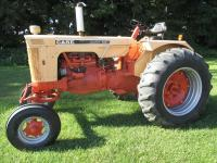 "1966 Case Mod. 830 Comfort King, gas, WF, 18.4X34"" tires, #8285117 (has PTO issue)"