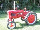 "1941 Farmall Mod. AV, High-Crop, Culti-Vision, WF, fenders, 9.5X36"" tires, NEW paint, rear belt pulley, #62415"