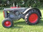 "1935 Case Mod. L Thrashermans Special, WF, NEW paint, NEW front tires, NEW 14.9X28"" tires, fenders, crank start, #308892"