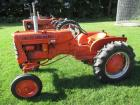 "Allis Chalmers Mod. D-10, WF, fenders, 11.2X24"" tires, snap coupler, rear belt pulley, #2197"