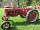 "1955 Farmall Mod. 200, WF, 11.2X36"" tires, wheel weights, fenders, 2pt fast hitch, #6487"
