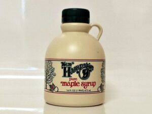 (302) Pure New Hampshire Maple Syrup 16oz New Hampshire pure maple syrup made by Board Member Les Houston
