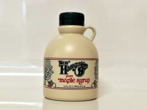 (303) Pure New Hampshire Maple Syrup 16oz New Hampshire pure maple syrup made by Board Member Les Houston