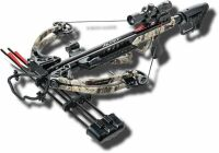 (315) Crossbow & Case. Bear Apocalypse Crossbow With 30-06 backpack case & arrows