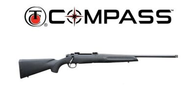 (338) T/C Compass 6.5 Creedmore w/Boyds thumb-hole stock, Laminated camo thumb-hole boyds stock and black barrel