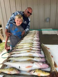 (350) Walleye Charter Reel Live Action Charters. This is good for up to 3 people for a 5 hour walleye fishing charter. Location TDB (based on fishing) by Captain Nick Dood. Must be redeemed by 11/2021. Participants need a valid fishing license and will ne